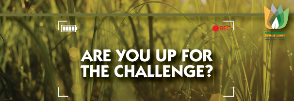 Submit a short video on how you can tackle climate change. Get the details.