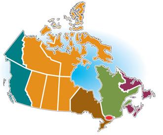 Carte Canada Region.Environnement Et Changement Climatique Canada A Propos D