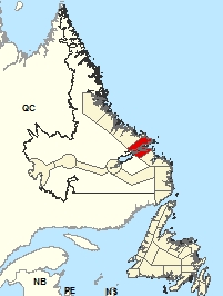Location Map – Rigolet and vicinity