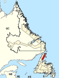 Location Map – Northern Peninsula East