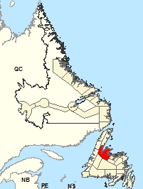 Location Map – Green Bay - White Bay