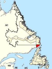 Location Map – Red Bay to L'Anse-au-Clair